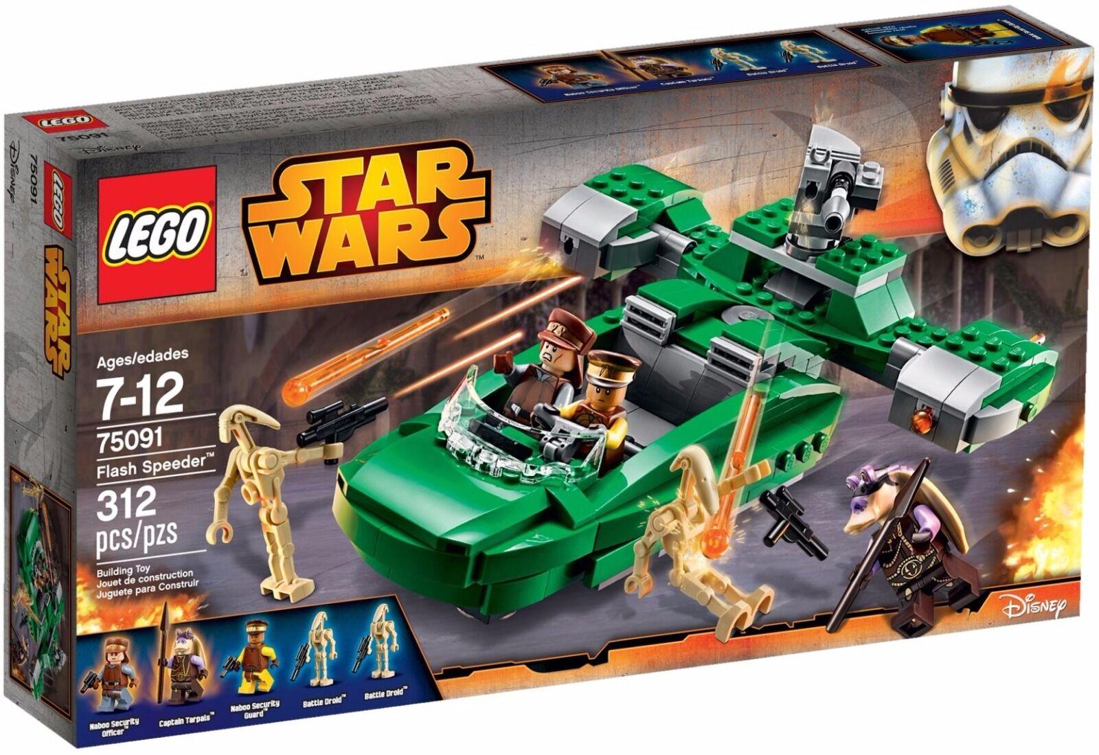 LEGO stjärnornas krig Flash Speeder ()(pensionerad 2015)(Sällsynt)(NY)