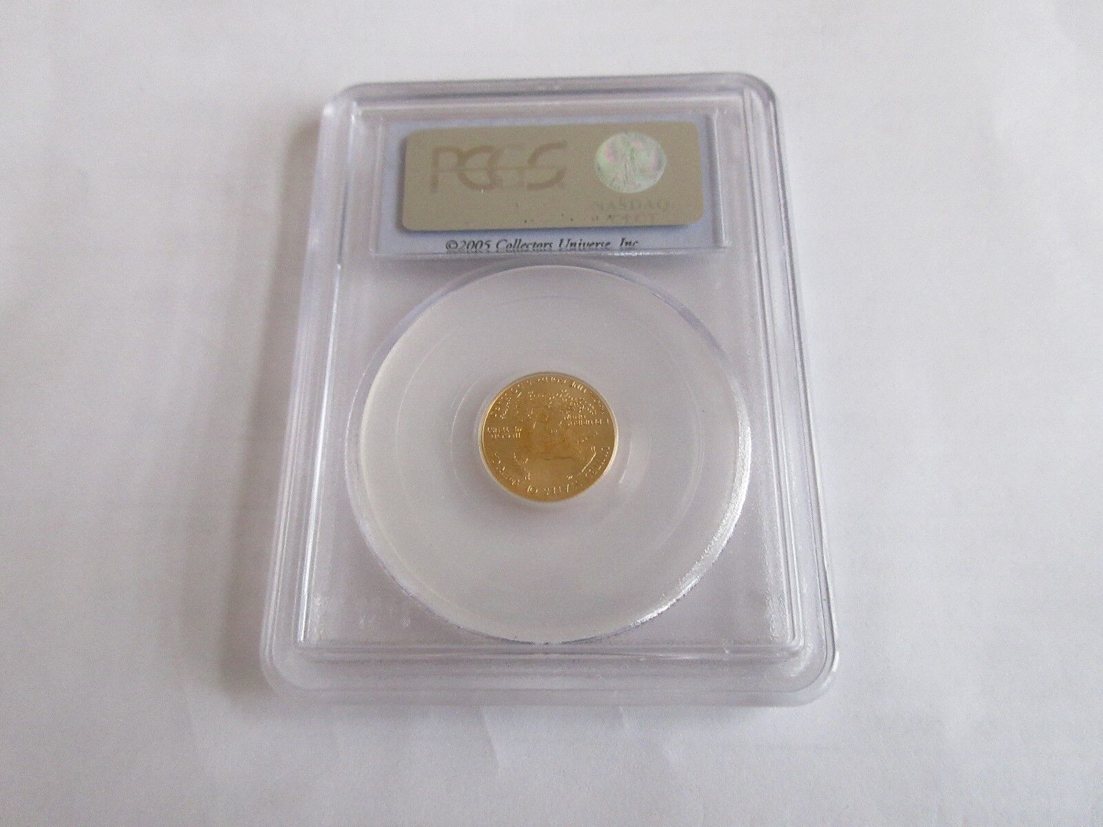 2005, American Eagle , Gold , $5 , PCGS , MS69 , First