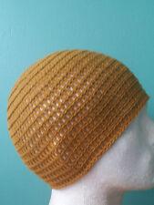 100% Cotton Tan Beanie Hat Ski, Surf, Skater Rasta Tam One Size Irie Heights