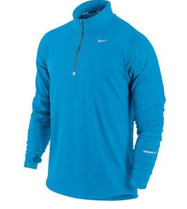 1ed85c52 nike mens dri-fit element stay warm halfzip running long sleeve ...