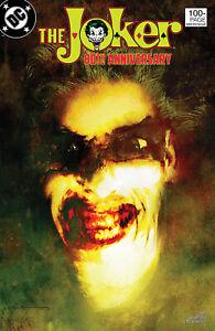 JOKER 80TH ANNIVERSARY #1 1980'S SIENKIEWICZ VARIANT 2020 DC COMICS 6/10/20 NM