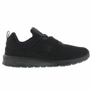 Image is loading DC-Shoes-Heathrow-Black-Mens-Trainers 758ae1b1275c8