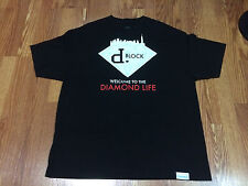Diamond Supply Co. x D Block Tee Shirt - Black - XXL RARE Jadakiss Styles P LOX