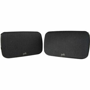 Polk Audio SR1 Wireless Rear Surround Speakers for Magnifi Max Soundbar - Pair