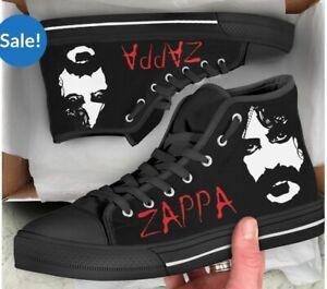 FRANK ZAPPA 🎸 Hi Top Tennis Shoes