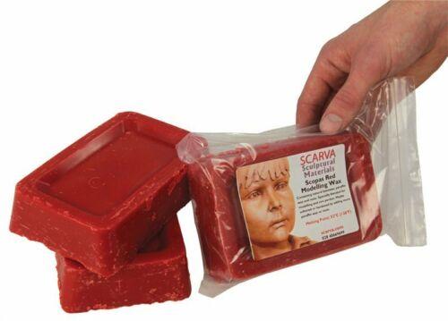 500g Modelización de cera roja