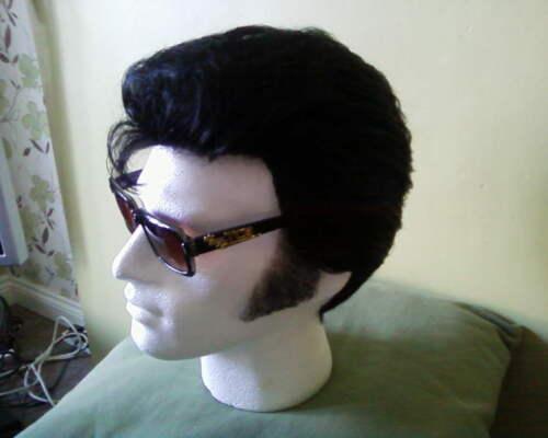 ELVIS SOSIE Custom Made Professional Perruque Pour Combinaison