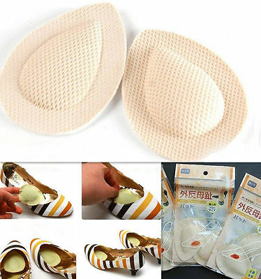 Cotton Breathable Foot Cushion Insoles Metatarsal Support Insert Pad Shoes