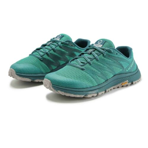 Blue Merrell Mens Bare Access XTR Eco Trail Running Shoes Trainers Sneakers