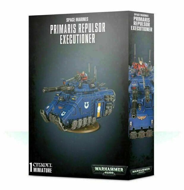 Warhammer 40K ADEPTUS ASTARTES SPACE MARINES PRIMARIS REPULSOR Grav Tank new