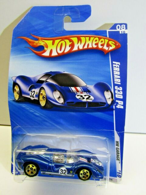 Mattel Hot Wheels HW Garage 2010 Ferrari 330 P4 Blue 084/214 # R7501-0815