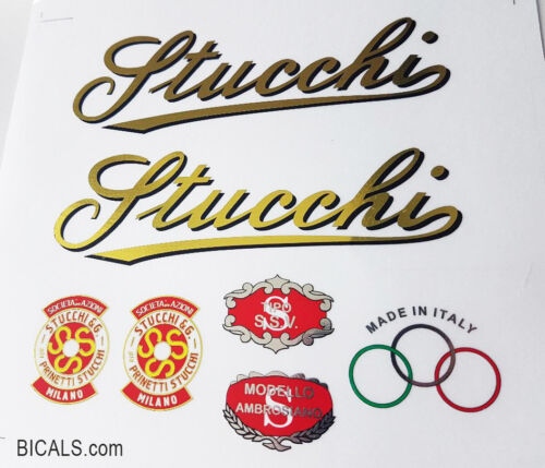silk screen free shipping STUCCHI PRINETTI decal sticker for bicycle