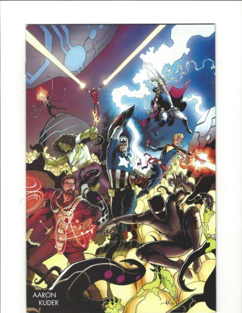 The Avengers Vol. 7 #1 Variant Aaron Kuder Young Guns Marvel Comics 2018 NM