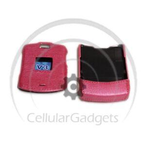 PREMIUM-Pearl-HOT-PINK-Protective-Case-for-Motorola-RAZR-V3-V3c