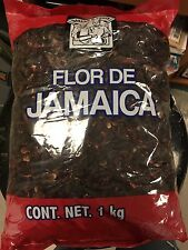 Flor De Jamaica, Dried Hibiscus Flower 2.2 Lbs