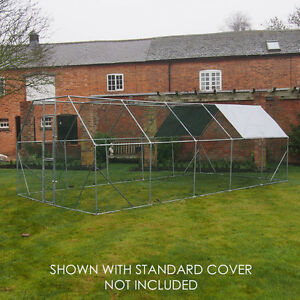 Chicken Run 6m X 3m Walk In Pet Cage Coop For Dog Rabbit
