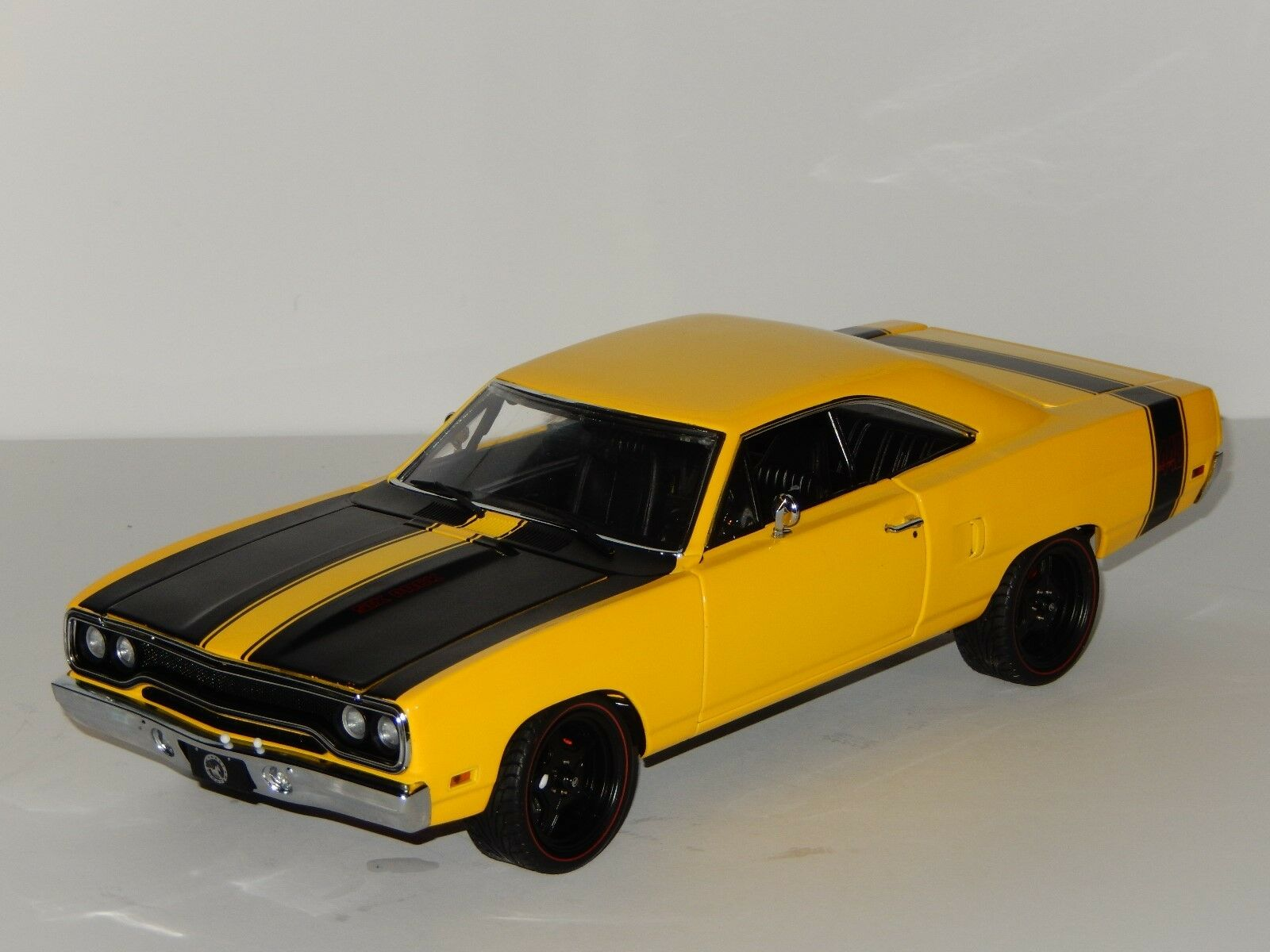 Échelle 1 18 GMP 1970 Street Fighter Plymouth Road Runner, Article No 18837
