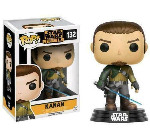 Pop Star Wars Rebels Collection Pre-Owned but New!