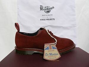 Details about Dr Martens Norse Projects Steed Chaussures 40 Made in England Archie Luxe Neuf