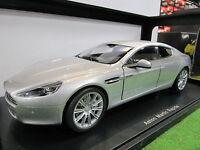 Aston Martin Rapide Gris Au 1/18 D Autoart 70217 Voiture Miniature De Collection