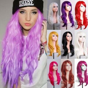 UK-Many-Colors-Cosplay-Wig-Costume-Party-Wigs-Heat-Safe-Real-Natural-Hair-Wigs-W
