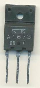 2SA1673 Sanken Transistor TO-3PF 2SA1673-Y (Menge 2 )