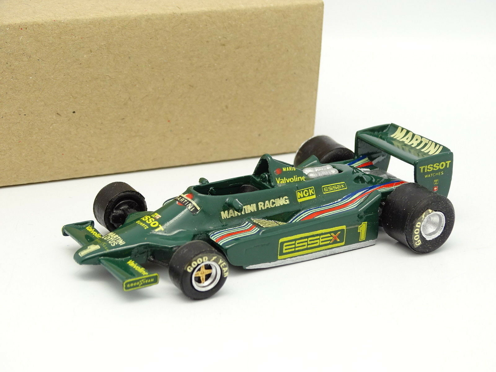 Eligor evrat kit assembled 1 43 - f1 lotus 79 ford martini gp italy 1979 andretti