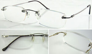 HM06-Superb-Quality-Rimless-Reading-Glasses-Flexible-Steel-Arm-Lightweight-Style
