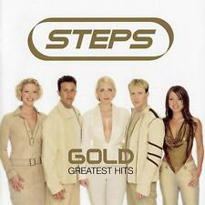 STEPS ( NEW SEALED CD ) GOLD 20 GREATEST HITS / VERY BEST OF ( TRAGEDY / 5678 )