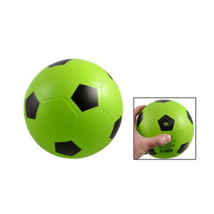 New-Green-Interesting-Realistic-Green-PVC-Football-Soccer-Toy-for-Children-HY
