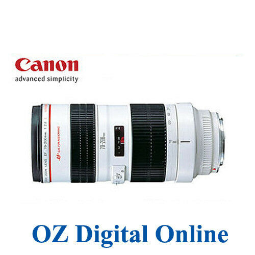 New Canon EF 70-200mm 70-200 f/2.8 F2.8 L USM 1 Year Au Wty