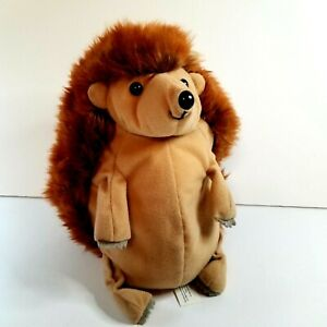 "Happy Hedgehog Plush Stuffed Animal Beanie Kohl's Cares Tucks Rolls Into Ball 8"""