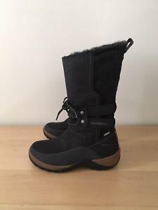 ac1bbca71c6fd Merrell Sylva Tall Waterproof Women's Boots Size 5 New 646881479599 ...