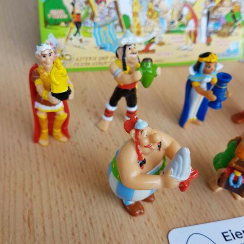 "FULL SET Asterix 50th anniversary 1.3/"" miniatur figurines SPECIAL EDITION kinder"