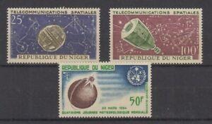 Raumfahrt-Space-Niger-59-60-70-mnh