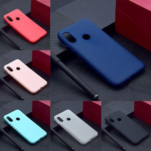 Details about For Xiaomi Redmi S2 4A 5A 6A/5 Plus Slim Soft Silicone Skin  Matte Case TPU Cover