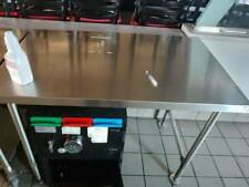 Restaurant Equipment Stationary Stainless Steel Prep Table Commercial Kitchen