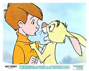 Winnie The Pooh and Tigger Too Walt Disney 1974 Lobby Card 5