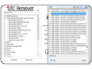 dtc remover
