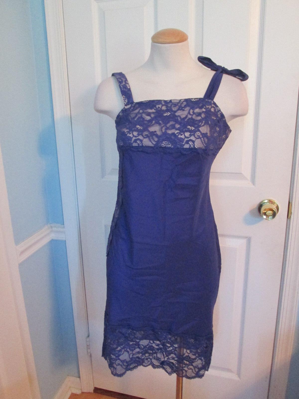 Victoria secret lace nude purple dress 2 new