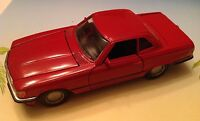 Nzg Modelle Mercedes Benz 420sl Maroon No. 234 Mint 1/35 Scale