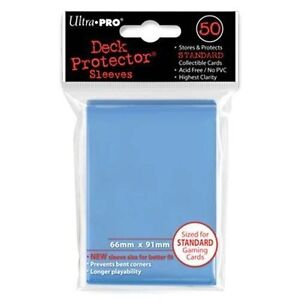 Ultra-Pro-Deck-Protector-Sleeves-Light-Blue-MTG-Pokemon-Trading-Cards-50-in-Pack