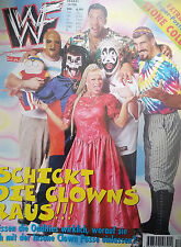 WWF WWE Magazin 12/98 12/1998  Magazine + Stone Cold Steve Austin Riesenposter