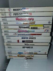Nintendo-Wii-Game-Lot-15-Games-Nintendo-Wii-2015