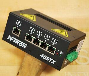 N-TRON 405TX 5 PORT ETHERNET SWITCH