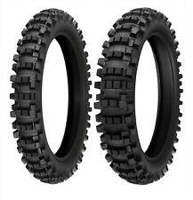 Kenda Dirt Bike Combo Front 80//100-21 and Rear 110//90-19 Tire Set Washougal II