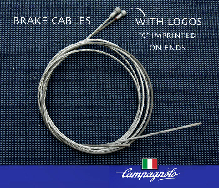 Campagnolo BRAKE  CABLES, NOS, Rare with  C  logos on both cable ends, Ships Free  factory outlet store