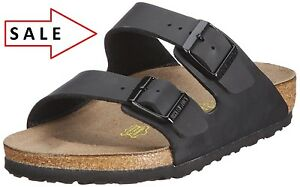 BIRKENSTOCK-real-LEATHER-or-Birkoflor-Upper-Gizeh-or-Arizona-Black-All-Size