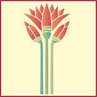 EGYPTIAN LOTUS STENCIL - FLOWER STENCILS -  JAPANESE - The Artful Stencil