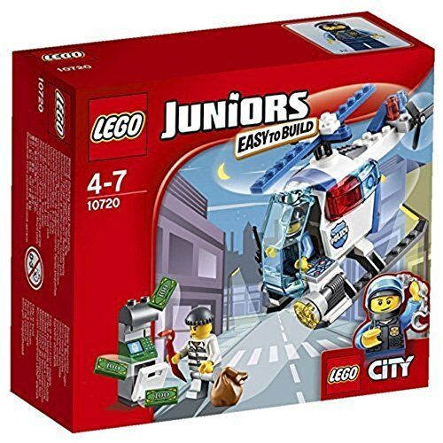 LEGO Juniors 10720  Police Helicopter Chase - Brand New